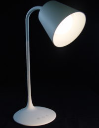 White Classic Style LED Rechargeable Table Lamp