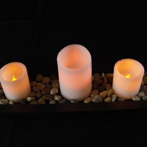 3-Piece Flameless LED Candle Set