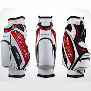 Perfect Design Waterproof Golf Cart Bag(White & Red)
